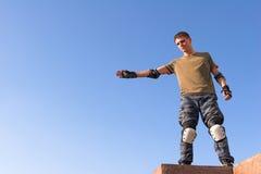 высокий прыжок подготовляет ролик стоковые фото