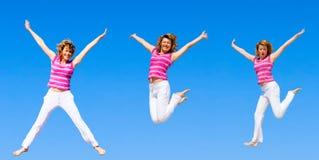 высокий прыжок хочет к Стоковые Изображения