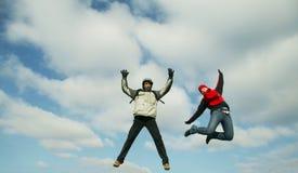 высокий прыжок стоковое фото rf