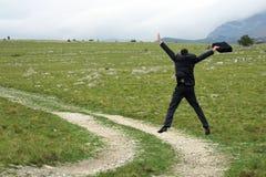 высокий прыжок Стоковые Изображения RF