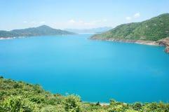 Высокий резервуар острова в Гонконге стоковое фото rf