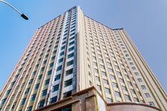 высокий самомоднейший небоскреб Стоковое Фото