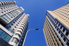 высокий самомоднейший небоскреб Стоковые Фото