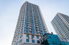 высокий самомоднейший небоскреб Стоковое Изображение RF