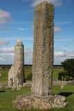 Высокий северный крест. Clonmacnoise. Ирландия Стоковое Фото