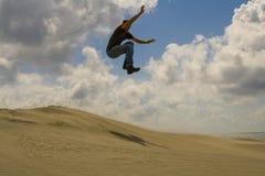 высокий скакать Стоковое Фото