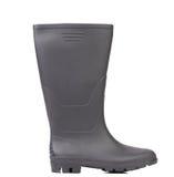 Высокий цвет черноты резинового ботинка. Стоковое Изображение RF