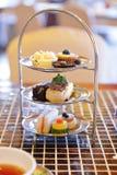 высокий чай комплекта Стоковое Изображение RF