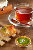 высокий чай Стоковые Изображения RF