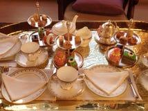 высокий чай Стоковая Фотография