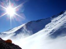 высокий шатер сиротливых гор Стоковое фото RF