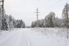 Высоковольтная линия стоковое фото rf