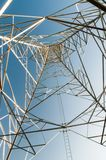 Высоковольтные башни Стоковое фото RF