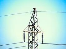 Высоковольтная башня Стоковое фото RF
