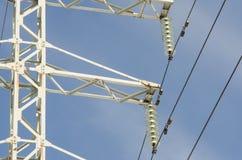 Линия электропередач стоковое изображение rf