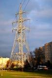 Высоковольтная линия электропередач Стоковые Изображения RF
