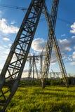 Высоковольтная конструкция стоковое изображение