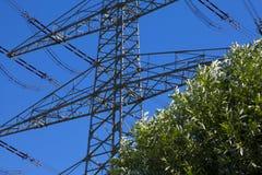 Высоковольтная энергия Стоковое фото RF