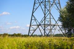 Высоковольтная энергия Стоковая Фотография