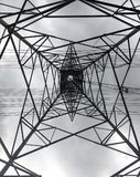 Высоковольтные поляки Стоковые Фотографии RF
