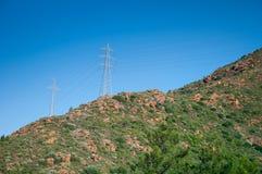 Высоковольтные провода Стоковое Фото
