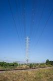 Высоковольтный поляк Стоковые Фотографии RF