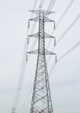 Высоковольтный столб Стоковое Фото