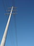 Высоковольтный mono поляк стоковое изображение