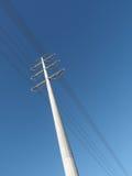 Высоковольтный mono поляк стоковая фотография rf