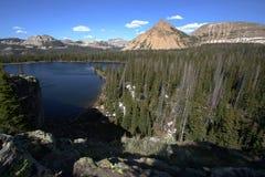 высокогорная гора озера Стоковое фото RF