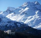 высокогорная гостиница Стоковое фото RF