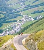 высокогорная долина стоковая фотография rf
