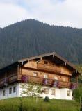 высокогорная дом традиционная Стоковое Изображение RF