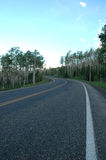 высокогорная дорога Стоковое фото RF