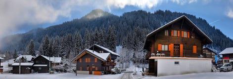 высокогорная зима ландшафта Стоковое фото RF