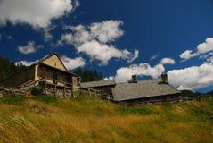 высокогорная итальянка зодчества alps типичная Стоковые Изображения RF