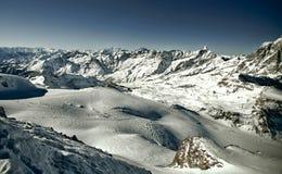 высокогорная панорама стоковые фотографии rf