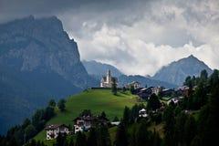высокогорная церковь Италия Стоковое Изображение RF