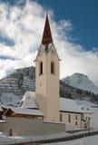 высокогорная церковь Стоковая Фотография RF