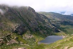 Высокогорное озеро Стоковая Фотография RF
