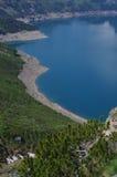 высокогорное озеро Стоковое фото RF