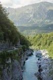 высокогорное река Стоковые Фотографии RF