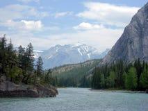высокогорное река Стоковые Изображения RF