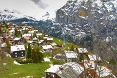 высокогорное село Стоковое фото RF