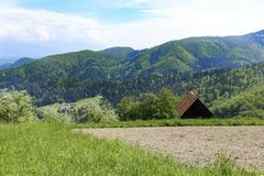 Высокогорные горы и луга бесплатная иллюстрация