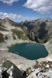 высокогорные горы озера Стоковое фото RF