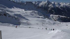 Высокогорные панорама и лыжный курорт
