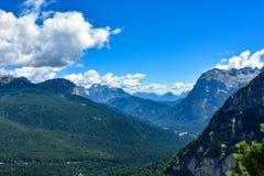 высокогорные пики Стоковая Фотография
