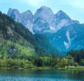 высокогорный взгляд лета озера Стоковые Фотографии RF