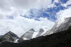 Высокогорный ледник Стоковые Изображения